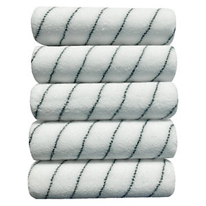 Wickes Professional Finish Short Pile Rollers 9in - Pack of 5