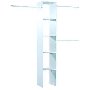 Spacepro Interior Wardrobe Storage Unit White