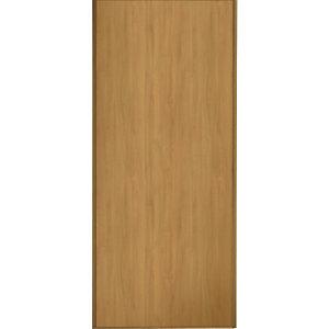 Spacepro Sliding Wardrobe Door Oak Frame & Panel - 2220 x 762mm
