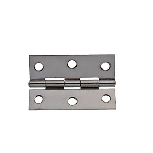 Wickes Butt Hinge - Chrome 63mm Pack of 20