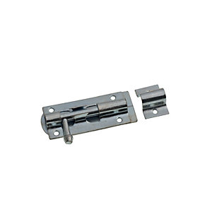 Image of Wickes Tower Bolt Zinc Plated 76mm