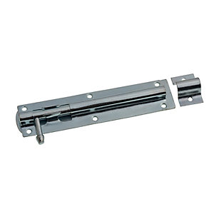 Image of Wickes Tower Bolt Zinc Plated 152mm