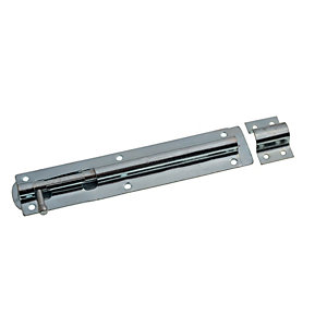 Image of Wickes Tower Bolt Zinc Plated 203mm