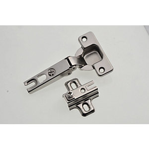 Wickes Concealed 95 Deg Hinge - 35mm Pack of 2