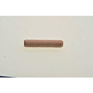 Wickes 6mm Wooden Dowel for Reinforcing Timber Joints - Pack of 25