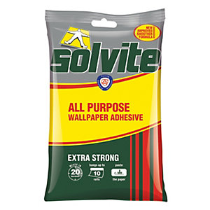 Solvite All Purpose Wallpaper Paste - 10 Roll