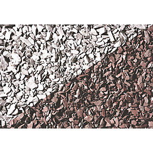 Wickes Decorative Plum Slate Chippings - Major Bag