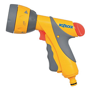 Hozelock Garden Hose Pipe Multi Spray Gun Plus