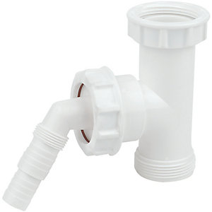 FloPlast TWT41 Appliance Trap Adaptor - 40mm