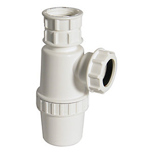 FloPlast TB37T Telescopic Bottle Trap - 32mm