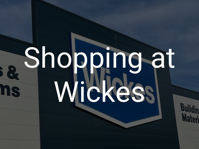 Shopping at Wickes