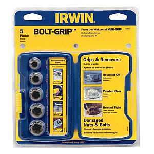 Irwin 10504634 Bolt-Grip 5pc Socket Base Set