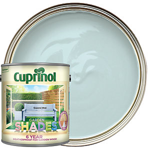 Cuprinol Garden Shades Matt Wood Treatment - Coastal Mist 2.5L