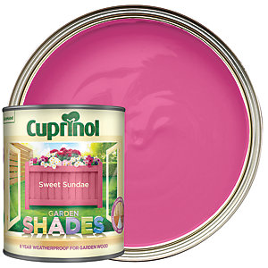 Cuprinol Garden Shades Matt Wood Treatment - Sweet Sundae 1L