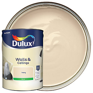 Dulux - Ivory - Silk Emulsion Paint 5L