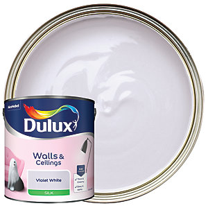 Dulux - Violet White - Silk Emulsion Paint 2.5L