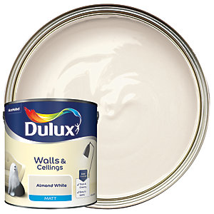 Dulux - Almond White - Matt Emulsion Paint 2.5L