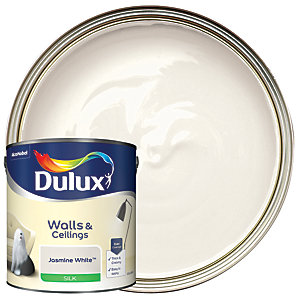 Dulux - Jasmine White - Silk Emulsion Paint 2.5L