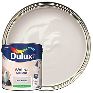 Dulux - Just Walnut - Silk Emulsion Paint 2.5L