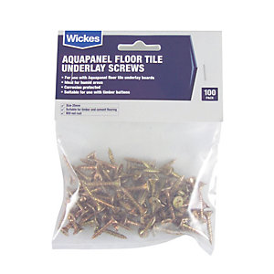 Knauf Aquapanel Floor Tile Underlay Screws Pack 100