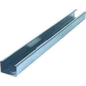 Knauf Galvanised Metal C-Stud - 0.55mm x 50mm x 2.7m