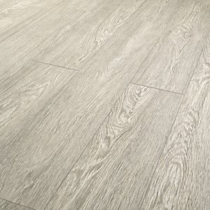 Wickes Novara Grey Laminate Flooring - 1.73m2 Pack