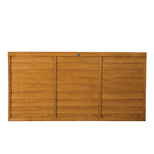 Wickes Dip Treated Overlap Fence Panel - 6 x 3ft