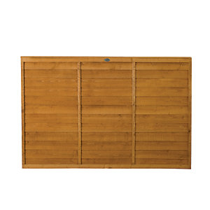 Wickes Dip Treated Overlap Fence Panel - 6 x 4ft