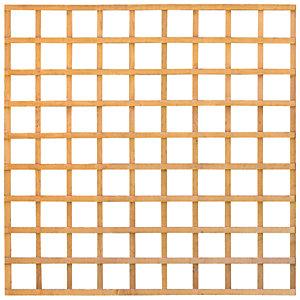 Image of Forest Garden Square Lattice Trellis - 1.83 X 1.83m
