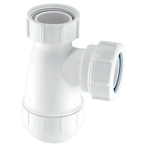 McAlpine E10 Shallow Seal Bottle Trap - 32mm X 38mm