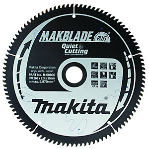 Makita B-08800 Makblade Plus 100 Teeth Circular Saw Blade - 260 x 30mm