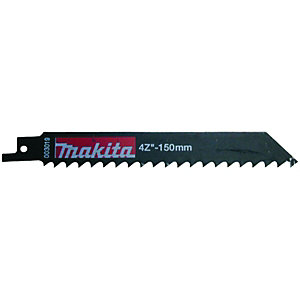 Makita P-04999 Reciprocating Saw Blades for Wood 150mm - Pack of 5