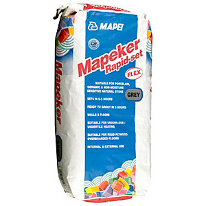 Mapei Mapeker Rapid Set Flexible Tile Adhesive Grey - 20kg