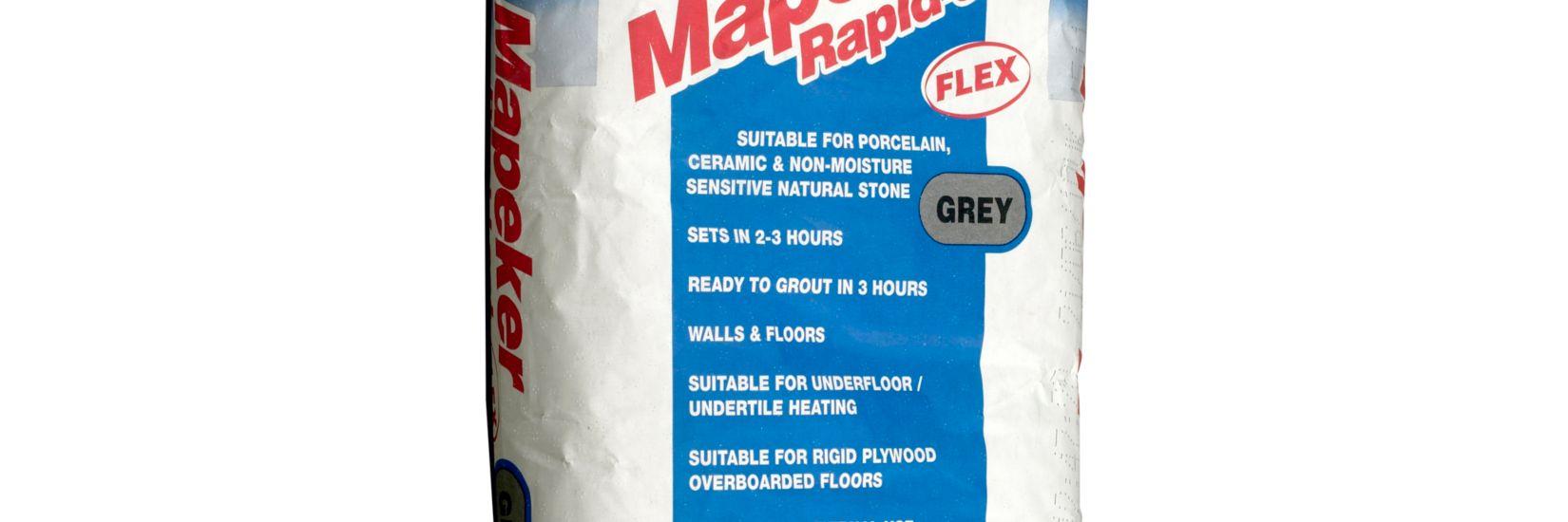 Mapei Mapeker Rapid Set Flexible Tile Adhesive Grey-20kg