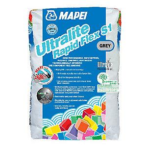 Image of Mapei Ultralite Rapid Flex S1 Tile Adhesive Grey 15kg