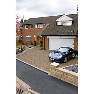 Marshalls Drivesett Tegula Driveway Block Paving - Hazelnut 160 x 160 x 50mm Pack of 426