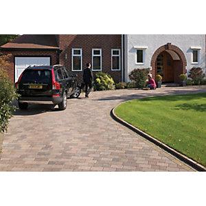 Image of Marshalls Drivesett Tegula Driveway Block Paving - Traditional 160 x 160 x 50mm Pack of 426