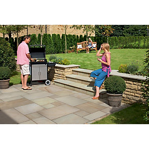 Marshalls Fairstone Smooth Autumn Bronze Paving Slab 560 x 560 x 22 mm - 18.8m2 pack