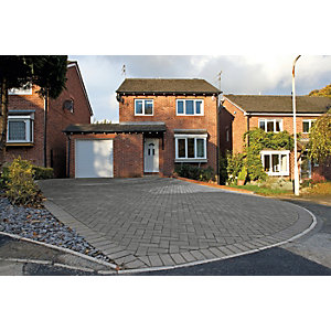Marshalls Driveway Block Paving - Charcoal 200 x 100 x 50mm
