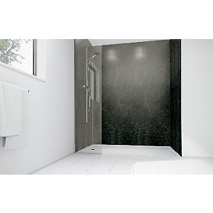 Mermaid Lead Laminate Single Shower Panel
