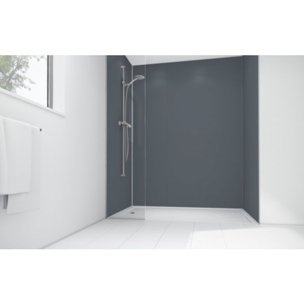 Mermaid Cadet Matt Acrylic Shower Single Shower Panel  2440mm x 600mm