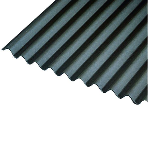 Onduline 3mm Black Corrugated Bitumen Sheet