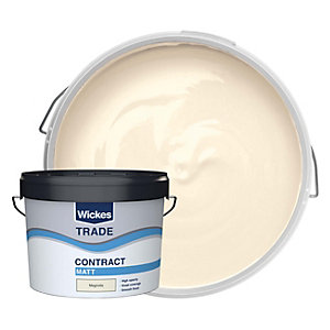 Wickes Trade Contract Matt Emulsion Magnolia 10L