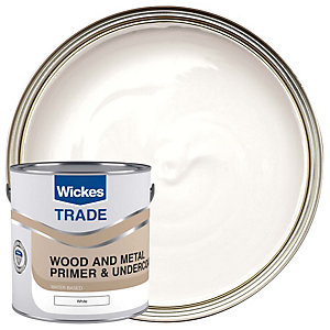 Wickes Trade Universal Primer White 2.5L