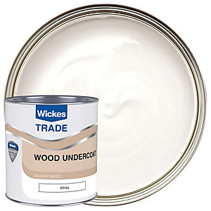 Wickes Trade Undercoat White 1L
