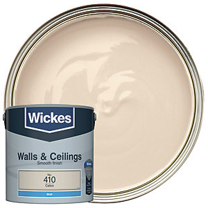 Wickes Calico - No.410 Vinyl Matt Emulsion Paint - 2.5L