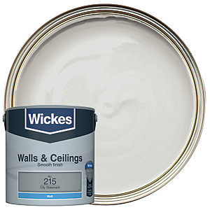 Wickes City Statement - No. 215 Vinyl Matt Emulsion Paint - 2.5L