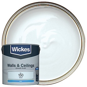 Wickes Cloud - No.150 Vinyl Matt Emulsion Paint - 2.5L
