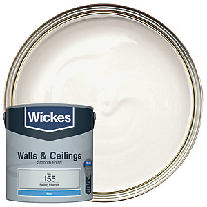 Wickes Falling Feather - No.155 Vinyl Matt Emulsion Paint - 2.5L
