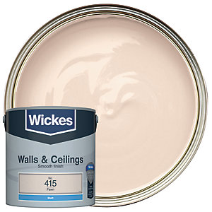 Wickes Fawn - No.415 Vinyl Matt Emulsion Paint - 2.5L
